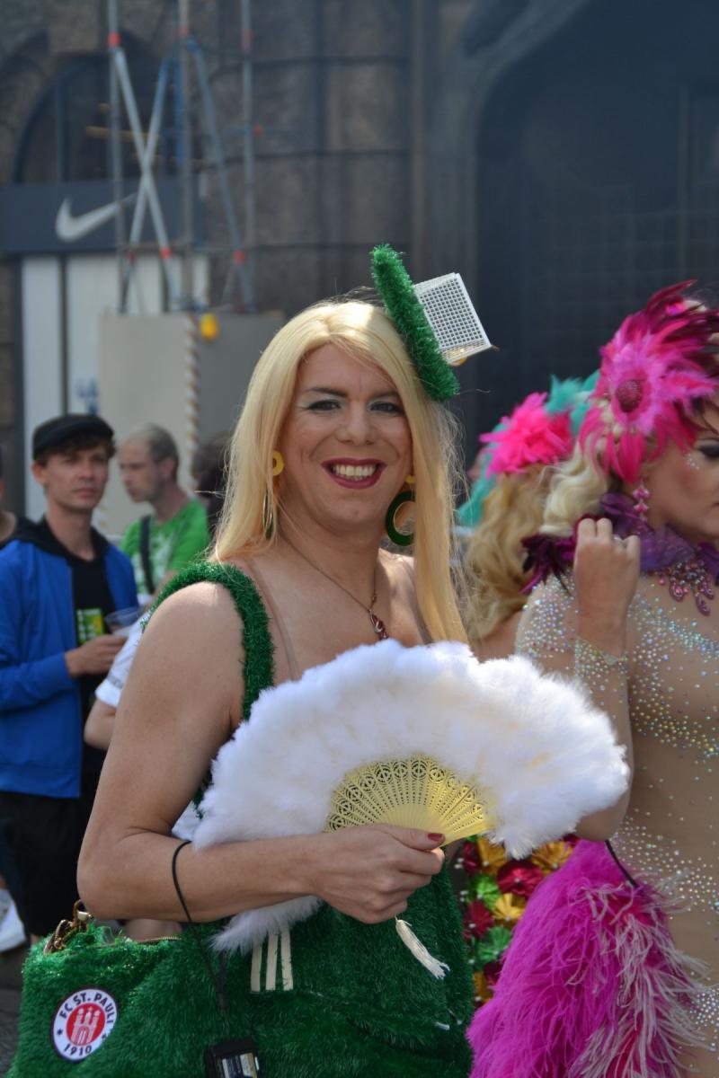 Transexuelle auf dem Hamburger CSD - Christopher Street
